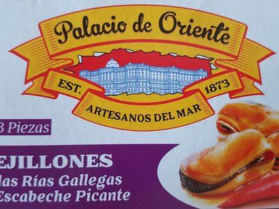 Moules Piquantes 1 / 4 Palacio Deoriente