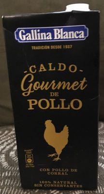 Caldo gourmet pollo