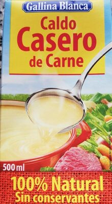 Caldo de carne 100% natural envase 500 ml
