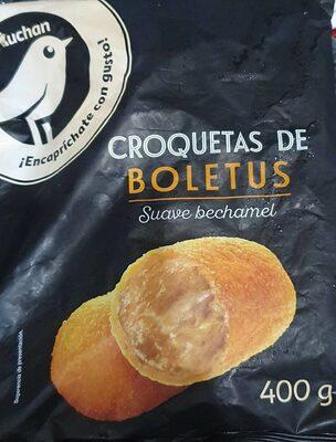 Croquetas de Boletus