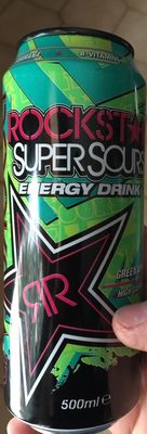 Supersours energy drink