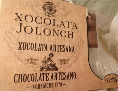 Chocolate con Leche Jolonch Vicens Argamunt