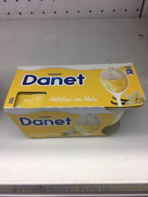 Danette vanille chantilly