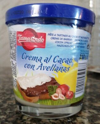 Crema al cacao con avellanas