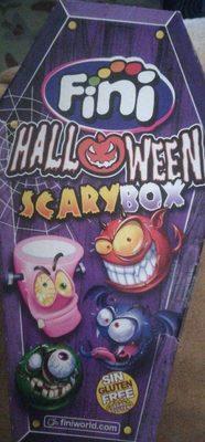 Halloween scary box