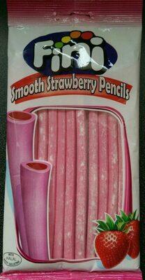 Smooth strawberry pencils