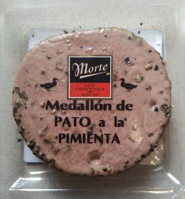 Medallón de Pato a la pimienta
