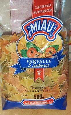 Farfalle 3 sabores