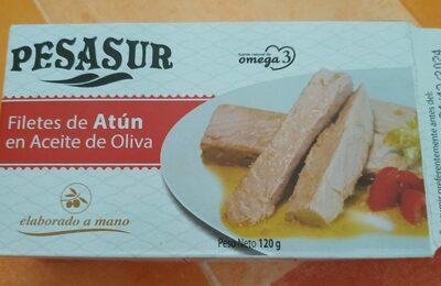 Filets de thon à l'huile d'olive espagnol