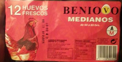 Huevos Beniovo Medianos