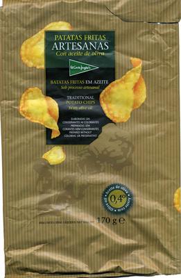 Patatas fritas lisas El Corte Inglés Artesanas