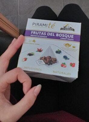 PiramiTé frutas del bosque