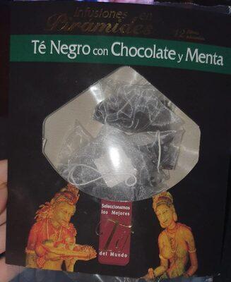 Té Negro con chocolate y menta