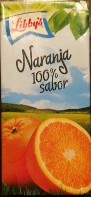 Zumo de naranja 100% sabor