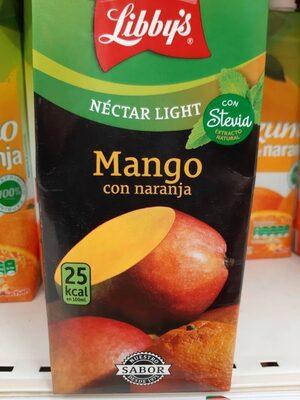 Néctar Light Mango con naranja con Stevia