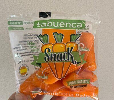 Snack zanahoria