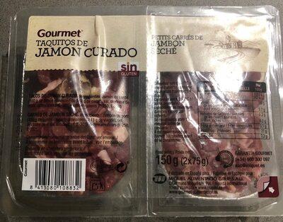 Taquitos de jamon curado