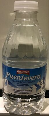 Fuentevera Agua Mineral Natural