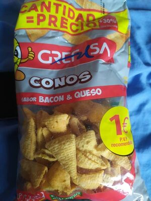 conos - sabor bacon & queso