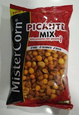 Mister Corn cóctel de frutos secos sabor picante bolsa 195 g neto escurrido