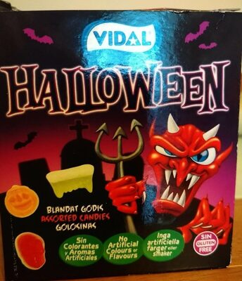 Halloween assorted candy