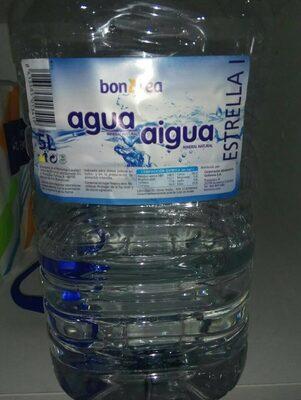 Agua mineral natural, estrella l