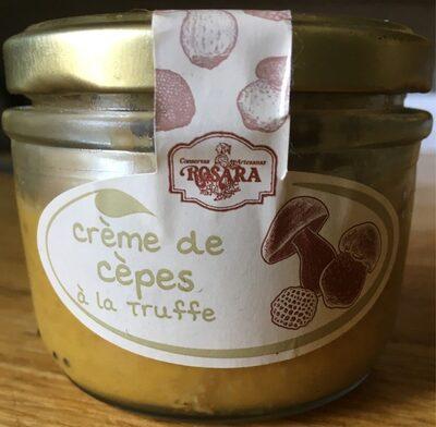 Crème de cèpes à la truffe
