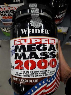 Weider Batido Energético Mega Mass Chocolate