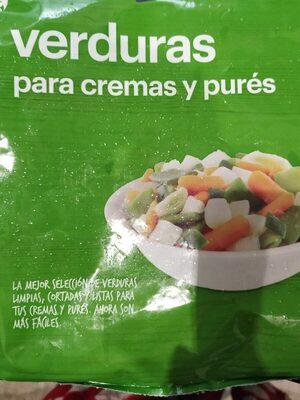 Verduras para cremas y pures