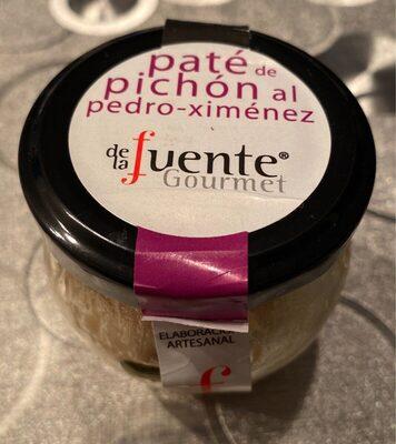 Paté de pichón al Pedro Ximénez