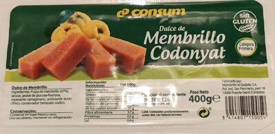 Dulce de Membrillo Codonyat