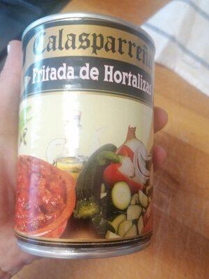 Fritada de hortalizas
