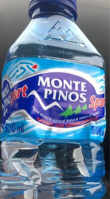 Agua Monte pinos