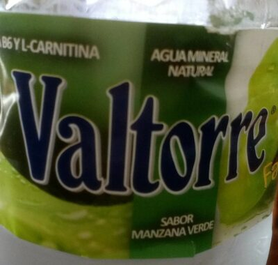 Agua mineral sabor manzana verde