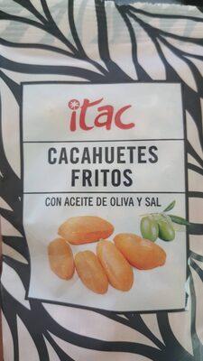 Cacahuetes fritos