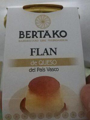 Bertako flan de queso