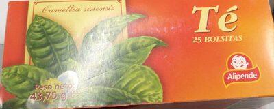 Té camellia sinensis