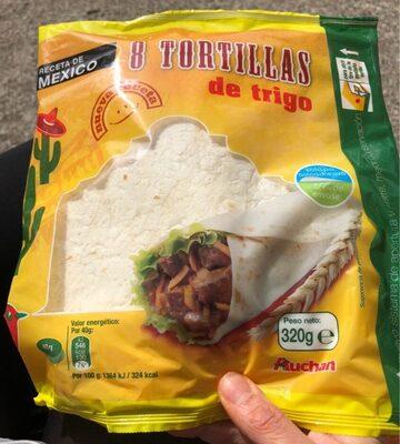 Tortitas De Trigo Auchan 8