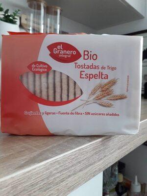 Tostadas de trigo espelts