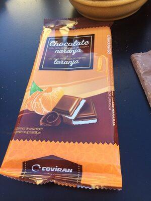 chocolate naranja