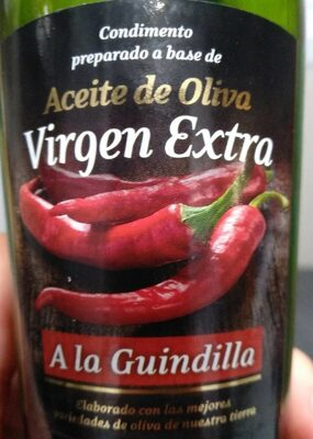 Aceite de Oliva virgen extra a la guindilla