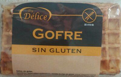 Gofre sin gluten