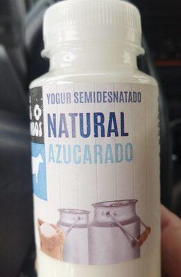 Yogur semidesnatado azucarado