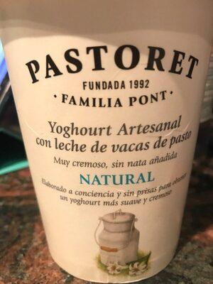 Yogur artesanal natural