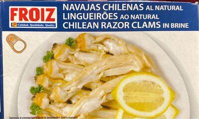 Navajas chilenas al natural