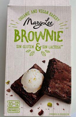 Brownie sin gluten y sin lactosa