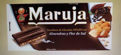 Chocolat amende et fleur de sel