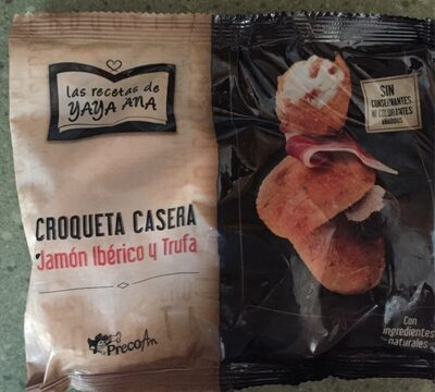 Croqueta Croqueta Casera Jamón Ibérico y Trufa