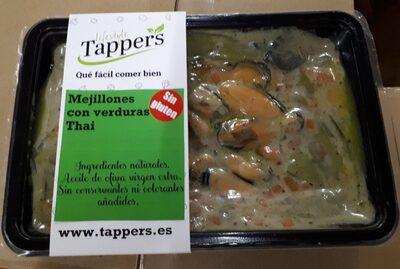 TAPPERS - Mejillones con verduras Thai