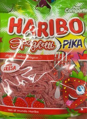 haribo spaghetti goût fraise